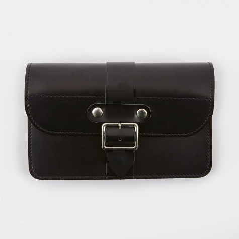 Comme Des Garcons Buckle Wallets (SAJ10P6S) - Black