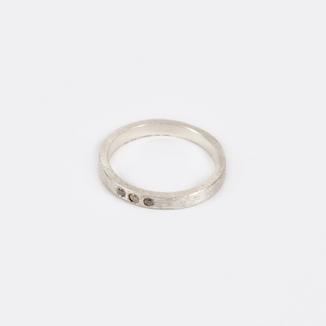 Petite Alliance Trible Ring - Silver