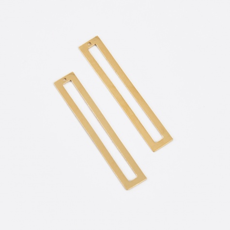 Antenna Back Earrings - Gold Set
