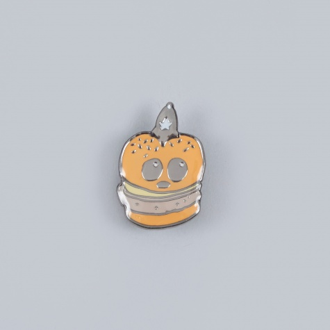 Death Burger Pin Badge