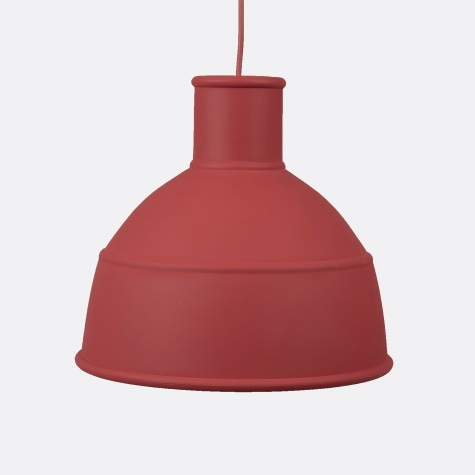 Unfold Pendant - Dusty Red