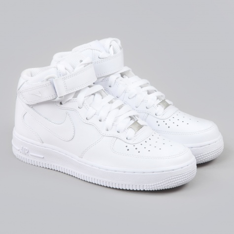 Air Force 1 Mid - White/White