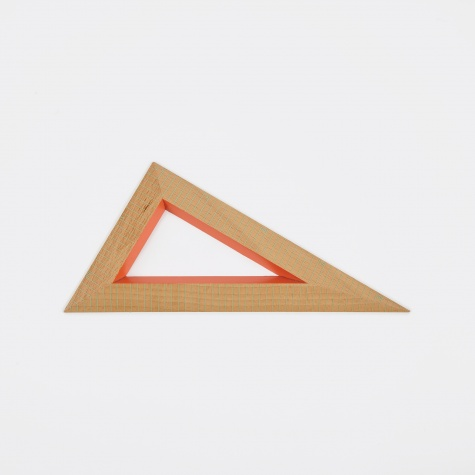 Wooden Ruler Triangle 3 - Beech