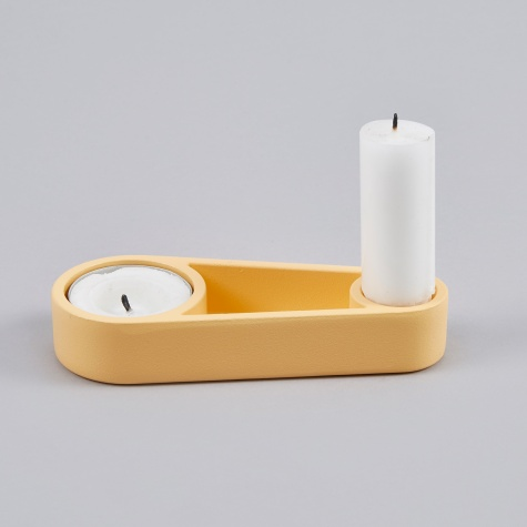 Candle Holder Kutter - Orange