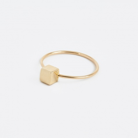 Cube Ring - Gold