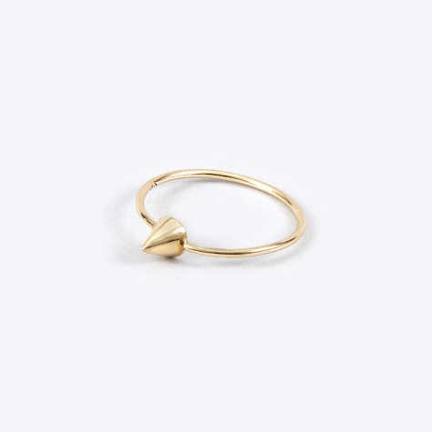 Cone Ring - Gold