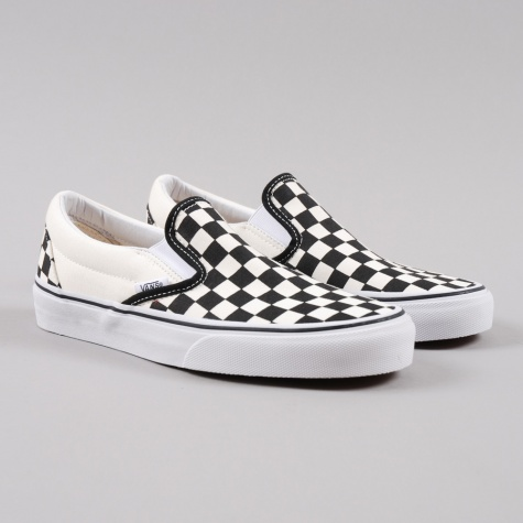 Classic Slip-On - Checker Black/White