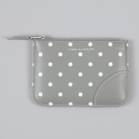 Polka Dot Print M (SA8100PD) - Grey