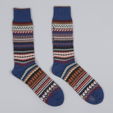 Butte Sock - Blue