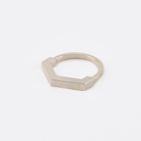 Hexagon Aeon Ring - Silver