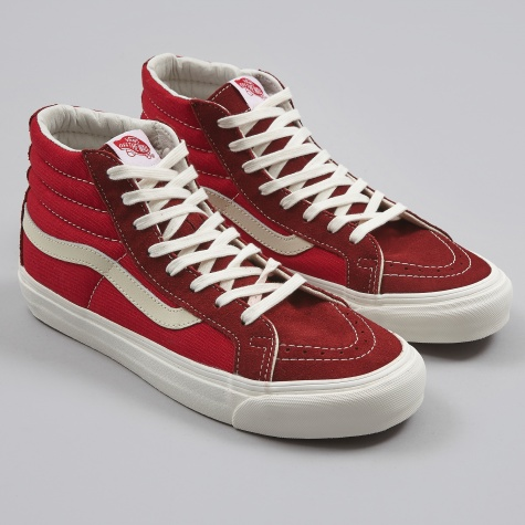 Vault OG Sk8-Hi LX - Madder Brown/Chilli Pepper