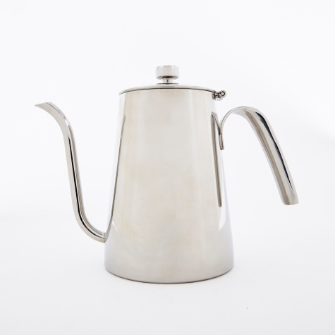 Slow Coffee Kettle 900ml - Stainless Steel