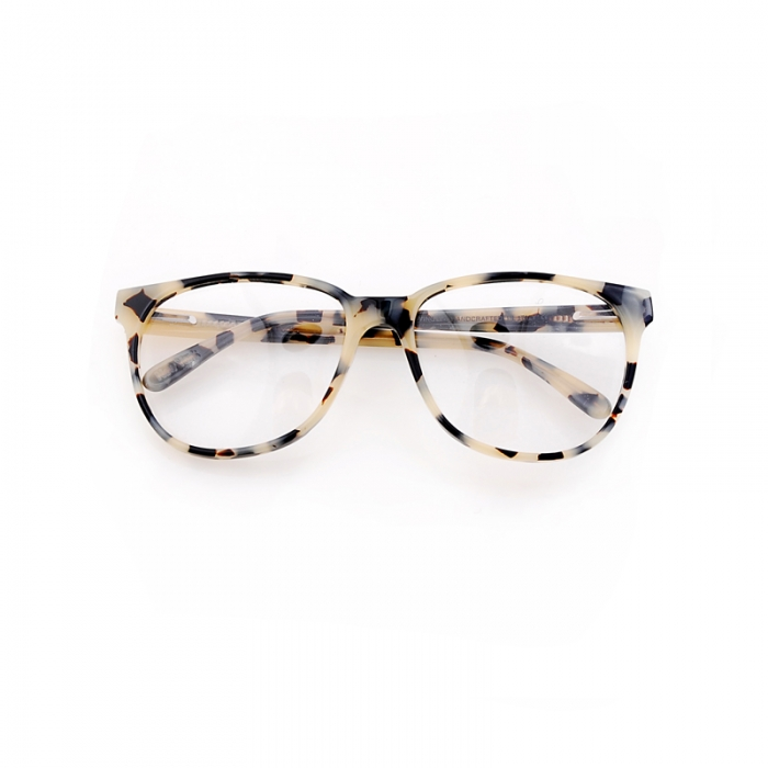 Prism Glasses 'New York' Cream Tortoise Shell (Image 1)