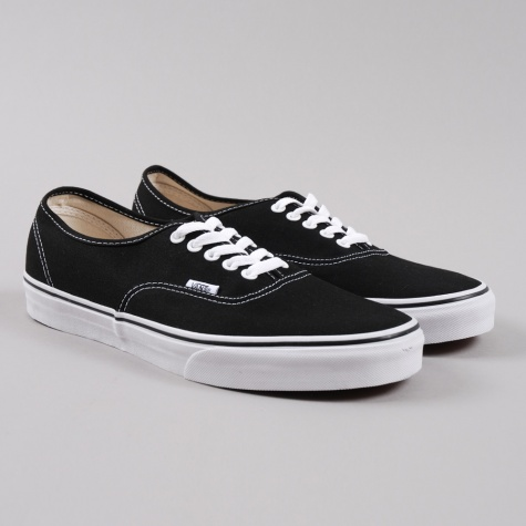 mens authentic vans black