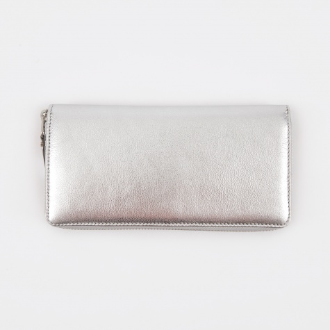Comme des Garcons Wallet Classic Leather L (SA0110G) - Silver