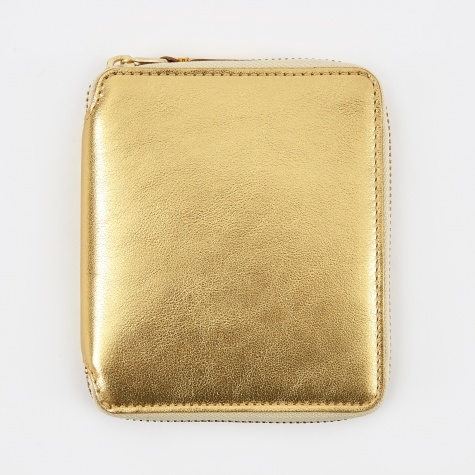 Comme des Garcons Wallet Classic Leather M (SA2100G) - Gold