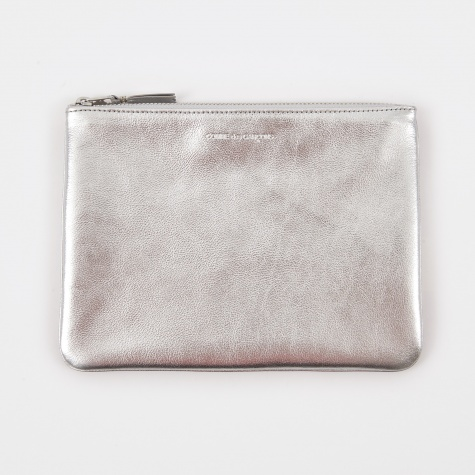 Comme des Garcons Wallet Classic Leather W (SA5100G) - Silver