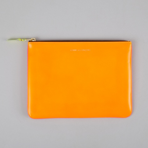 Comme des Garcons Wallet Super Fluo W (SA5100SF) - Orange/Pink