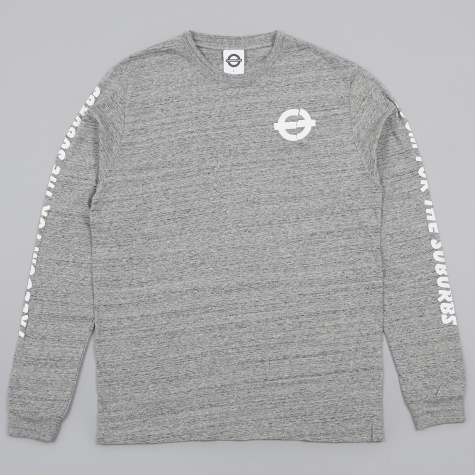 Freedom For The Suburbs LS Tee - Grey