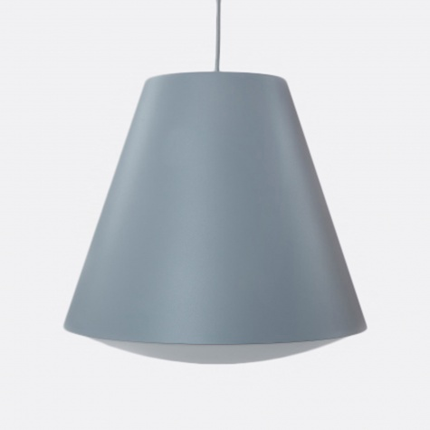 Wrong for Hay Sinker Pendant Large - Dusty Grey