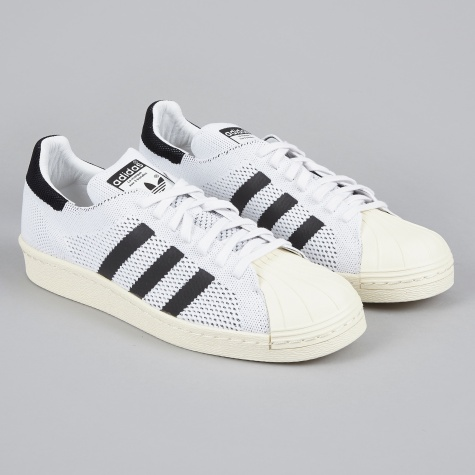 Superstar 80s Primeknit - White/Black