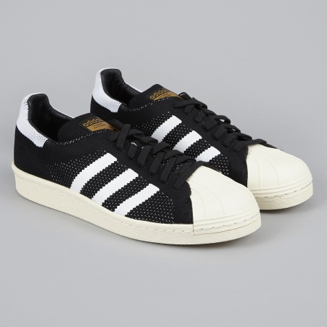 Superstar 80s Primeknit - Black/White