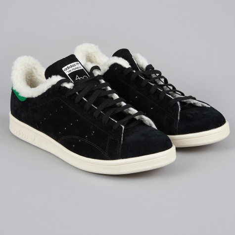 x The Fourness Stan Smith Fur - Black