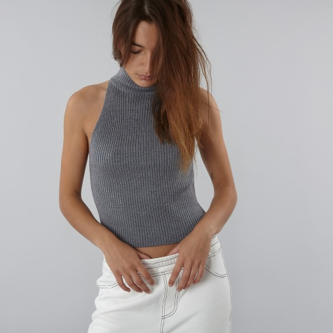 Davis Top - Grey Marle