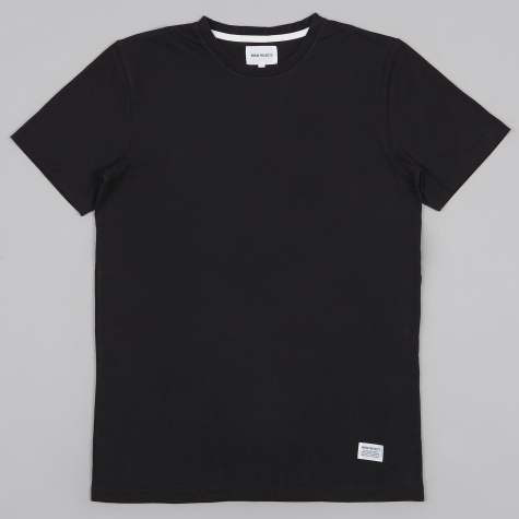 Niels Basic T-Shirt - Black