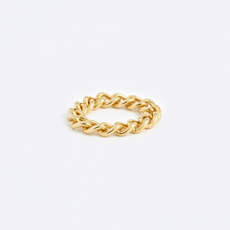Chain Ring - Gold Plated