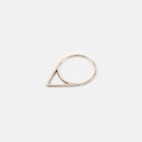 Triangle Ring - Silver