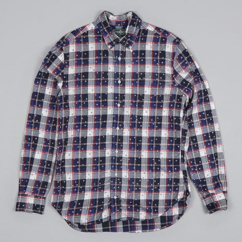 Oxford Shirt - USA Flannel Check