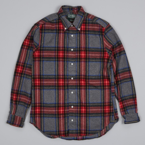 Oxford Shirt - Shaggy Check Red