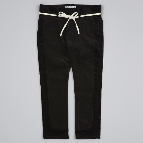 Velvet Skinny Pants - Black
