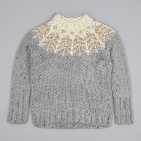 Nordic Mohair Knit - Gray