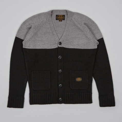 Block Cardigan - Black