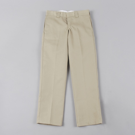 Slim Straight Work Pant - Khaki