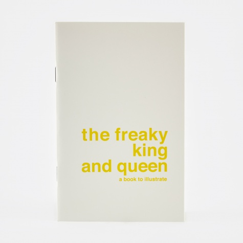 Draw Your Own Book - The Freaky King And Queen