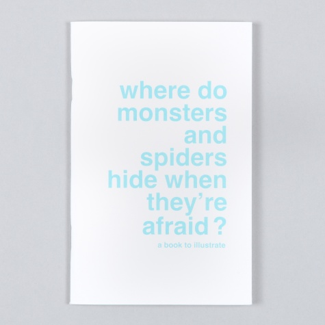 Draw Your Own Book - Where Do Monsters And Spiders