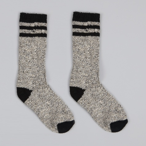Pine Lodge Socks - Natural/Black