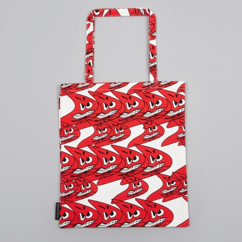 Wrong for Hay Bernhard Willhelm Tote Bag - Red