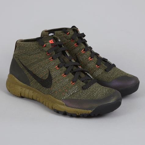 Flyknit Trainer Chukka Sneakerboot - Sequoia