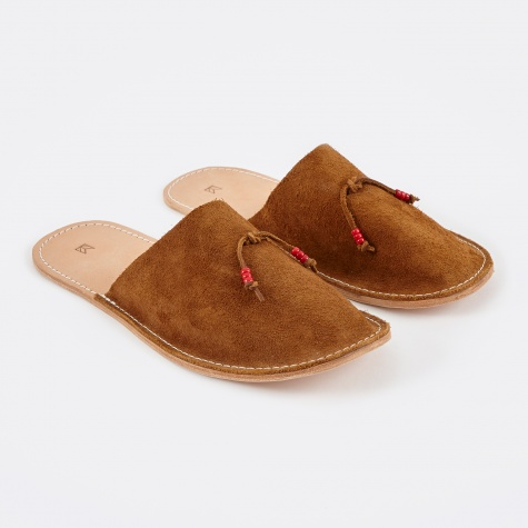 Home Slippers - Tan