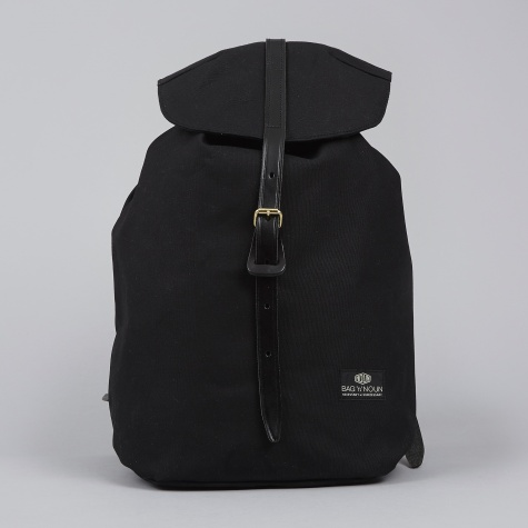 Quality Canvas Napsac - Black