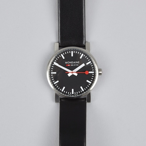 Simply Elegant Gents 41mm Watch - Black/Black