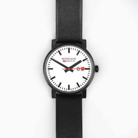 Evo Big Date Gents 40mm Watch - White/Black