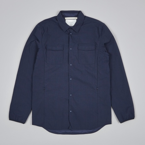 Jens Ripstop Nylon Jacket - Navy
