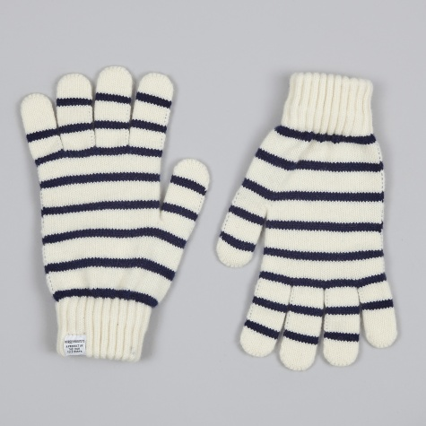 Nautical Gloves - Ecru