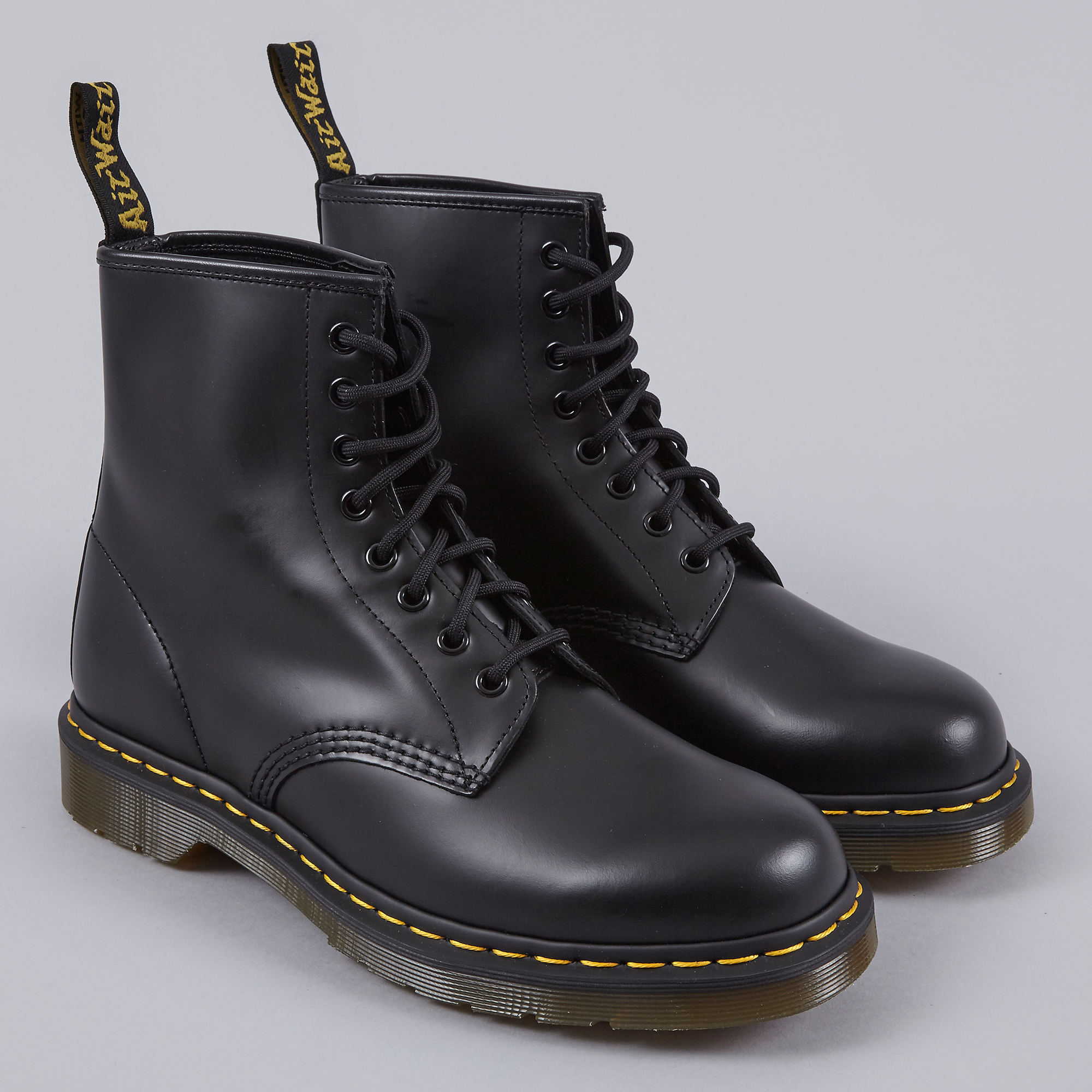 Populaire Dr.Martens Core 1460 Boot - Black Smooth CI15