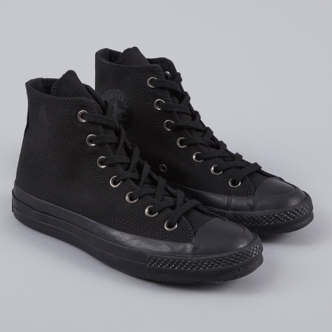 1970s Chuck Taylor All Star Hi - Monochrome Black